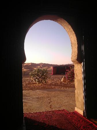 Etoile des Dunes : Vue de l'entrée principale