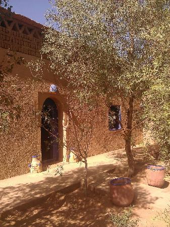 Etoile des Dunes : Vue du patio intérieur