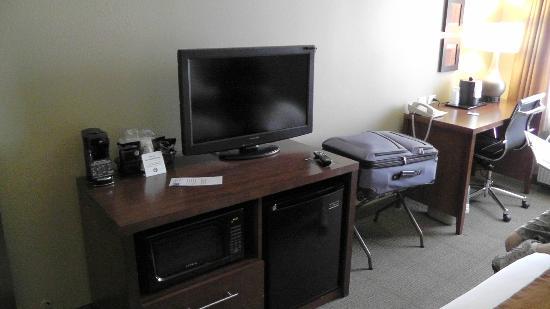 Comfort Inn & Suites: Zimmer im 2. OG