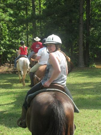 Southern Cross Ranch: Riding was excellent and appropriately geared toward each riders level of experience
