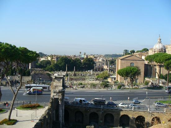 Hotel Forum Roma: The view from the rooftop