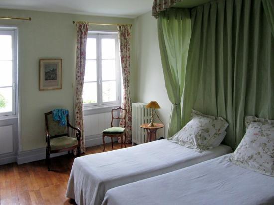 Chateau de La Plante: The Valentine room