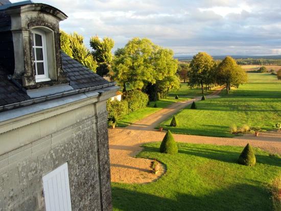 Chateau de La Plante: View from the Valentine room