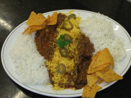 Waterside Cafe Bistro: Chilli-con-carne - a favourite from our Specials Board.
