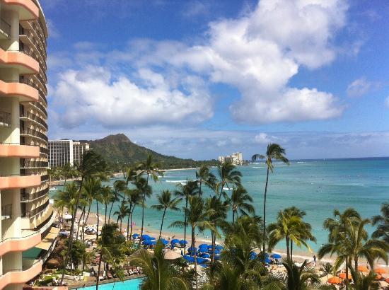 The Royal Hawaiian, a Luxury Collection Resort: Balcony view