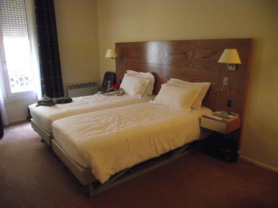 Hotel Magellan: Chambre, lits jumeaux