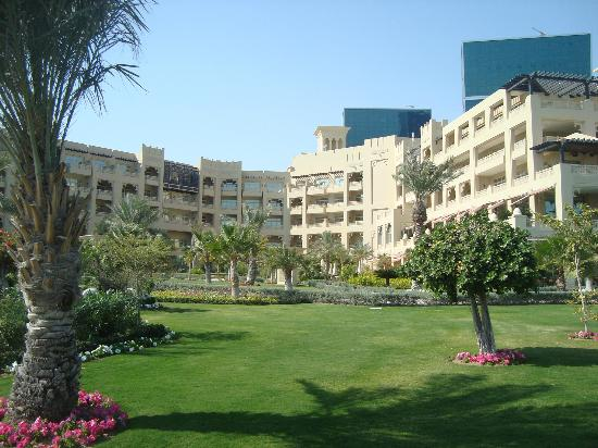 Grand Hyatt Doha Hotel & Villas: From the back of the hotel