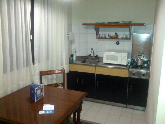 Hotel Suites Catalinas: nice kitchen in the room
