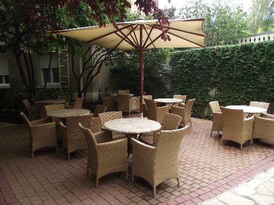 Hotel Magellan: Terrasse