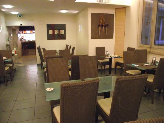 Hotel Magellan: Salle pour petit-déjeuner