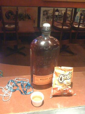 Bourbon n' Toulouse: Kevin & Will's breakfast every year on Fat Tuesday.  Who doesn't like bourbon at 5:00am?