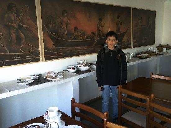 Hotel Hallef: Desayuno excelente