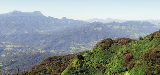 Mahabaleshwar Hill Station: View from Falkland Point