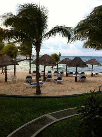 The Royal Cancun All Suites Resort: This is the view from our patio!~SPECTACULAR!