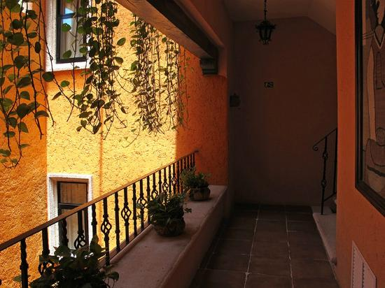 Hotel Lunata: Looking Outside Door to Room