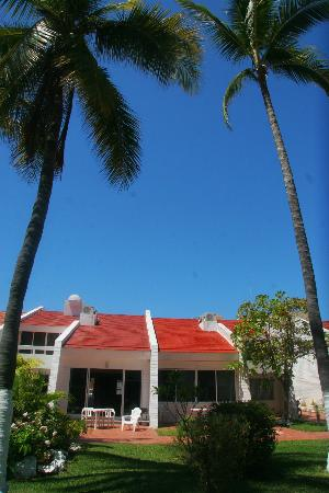 Villa Serena Vacation Rentals: View of the villas from the gardens