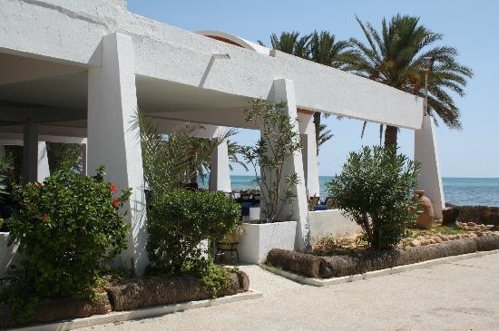 Sangho Village Djerba: Le restaurant de la plage