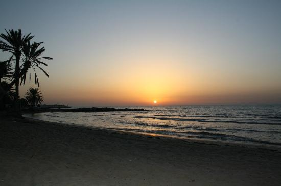 Sangho Village Djerba: Lever du soleil