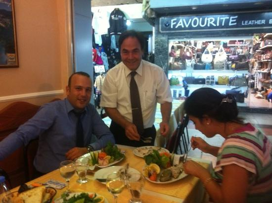 Liman Restaurant : cemal bey