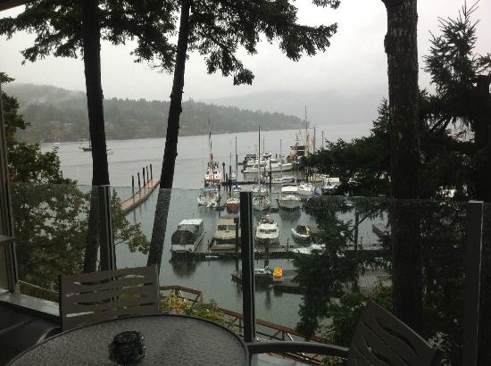 Brentwood Bay Resort & Spa: view from balcony
