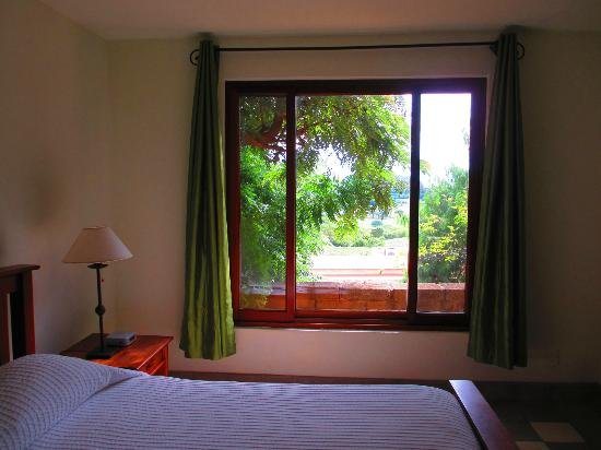 Villas de Palermo Hotel & Resort: View from Downstairs Bedroom