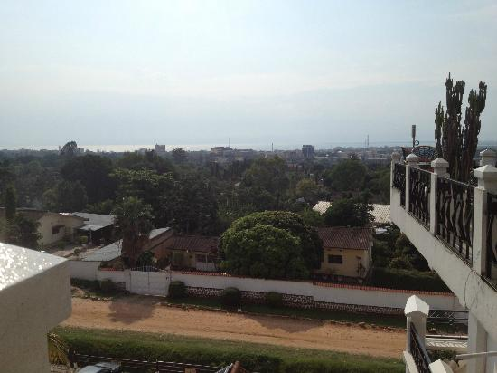 Sun Safari Club Hotel: View from 4th floor bar/lounge