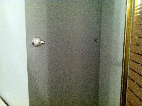 Hudson, NY: Where's the towel bar?????