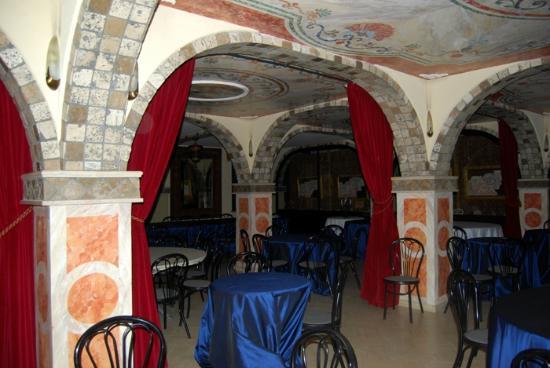 Terme Francescane Village: Sala colazione