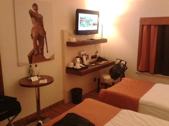 Best Western Plus Ferdynand Hotel : Widok na pokój