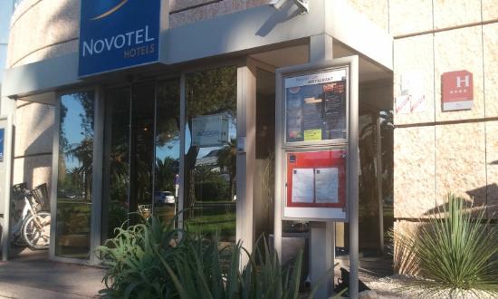 Novotel Nice Arenas Aeroport: ingresso