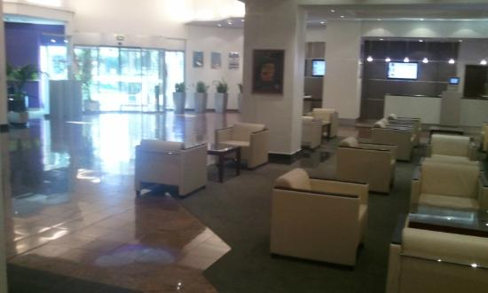 Novotel Nice Arenas Aeroport: Hall