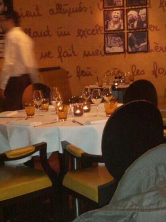 La Brasserie Victor Hugo : pasta carbonara not bad