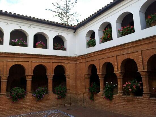 Monasterio de La Rábida: patio