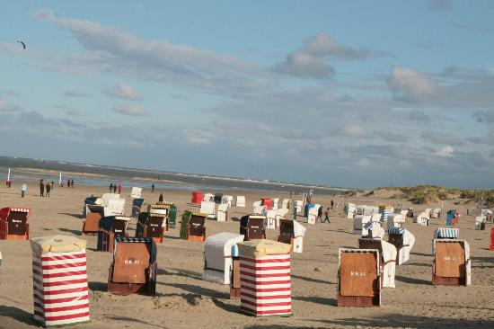 Hotel Weisse Dune: Strand van Borkum