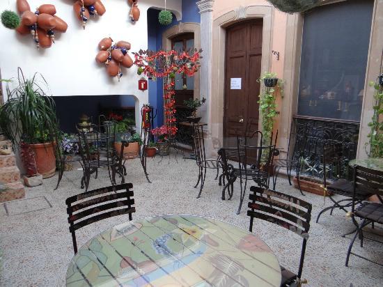 La Casona de Tete: Charming breakfast area