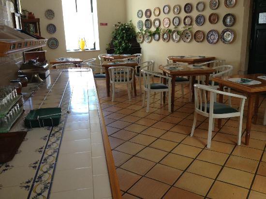 Loule Jardim Hotel: dinig area