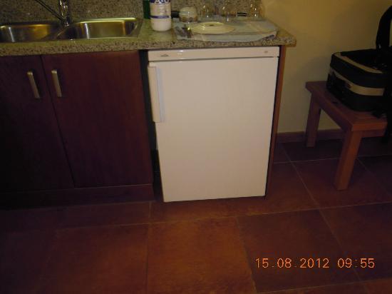 Sant Moritz Apartments: nevera-centrifugadora