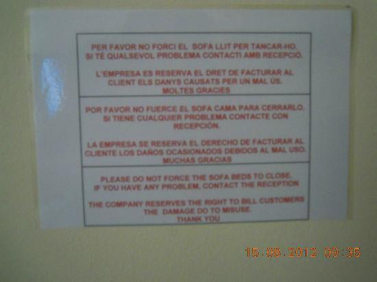 Sant Moritz Apartments: más carteles