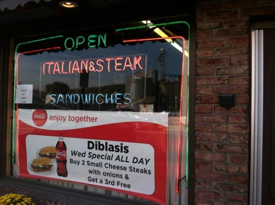 Di Blasi's Sandwich Shop: we got the Wed special.