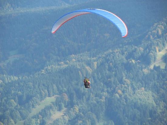 Paraworth Tandem Paragliding: Vuelo Franco con Craig