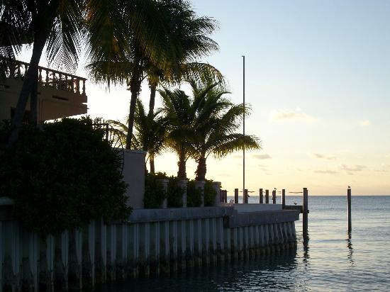 Hyatt Residence Club Key West, Sunset Harbor: Harborwalk near our resort