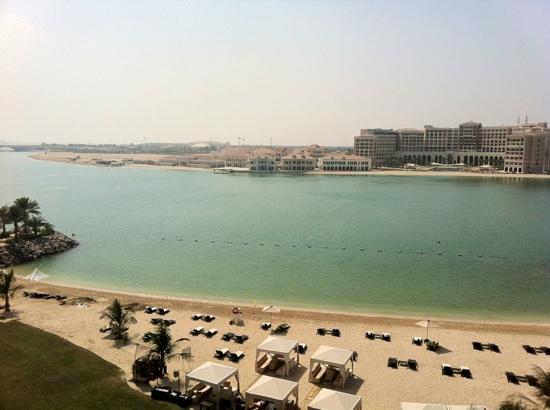 Traders Hotel, Qaryat Al Beri, Abu Dhabi: suite room view