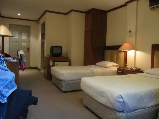 Mandalay Swan Hotel: la chambre