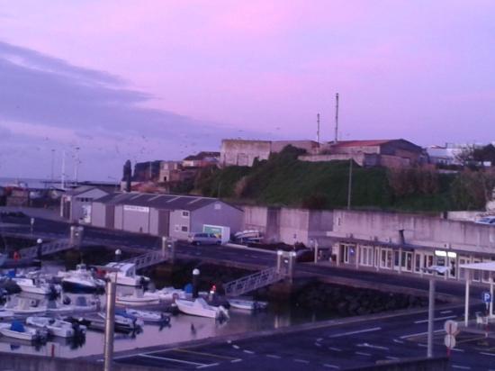 Hotel Marina: vista do quarto para marina-room view to the marina