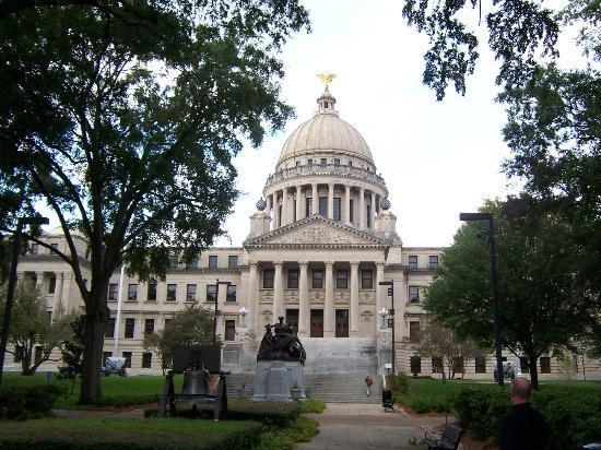 Τζάκσον, Μισισιπής: Front view of the Capitol