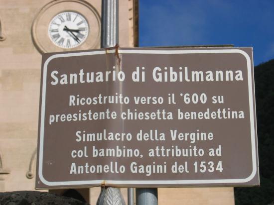 Santuario Gibilmanna: Sanctuary Gibilmanna
