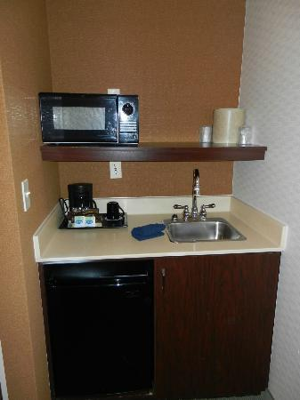 SpringHill Suites Frankenmuth: pentry