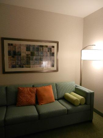 SpringHill Suites by Marriott Frankenmuth: sitting area