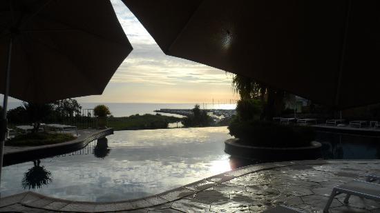 Hotel La Solenzara : mattinata uggiosa