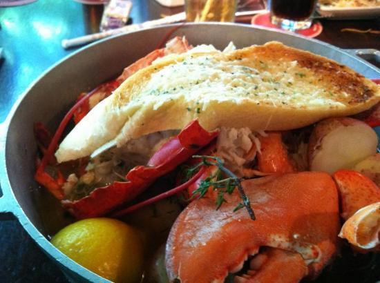 Pappadeaux Seafood Kitchen: Steam pot @ Pappadeaux